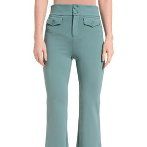 ✨JUST IN✨Knitted 2 Pockets Bell Bottom Pants